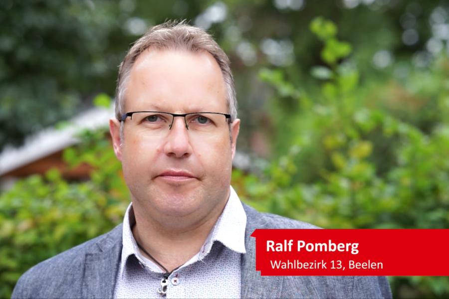 Ralf Pomberg für eine neuen Kurs im Kreis Warendorf